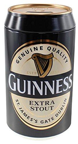 McLaughlin's Irish Shop Guinness Spardose aus bedrucktem Blech.