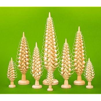 Tischdekoration Spanbaum BxHxT 18,5x60x18,5cm NEU Holzbaum Weihnachtsdeko Deko