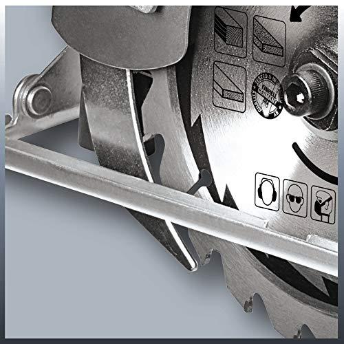 Einhell Handkreissäge TC-CS 1200 (1230 W, max. 55 mm, Sägeblatt Ø 160 mm, 24 Zähne, Parellanschlag) - 10