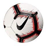 Nike Pitch - Balón de fútbol, Color Blanco y Negro