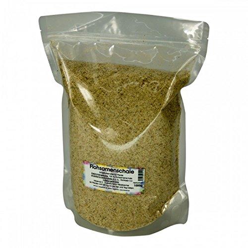 Natusat Flohsamenschalen 1000 g - gegen Sand im Pferdedarm, Kotwasser, Darmreinigung