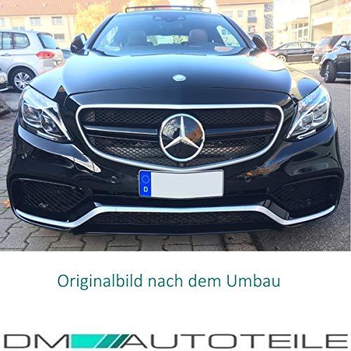 51hB47ISgbL - DM Autoteile Stoßstange vorne +Grill+ Zubehör passend für C-Klasse S205 W205 C63 15>