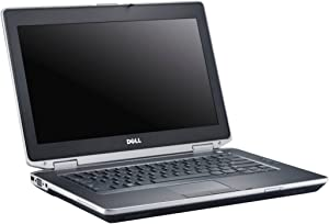 "Dell Latitude E6430 14"" HD Business Laptop PC, Intel Core i7 Processor, 8GB DDR3 RAM, 128GB SSD, DVD+/-RW, Windows 10 Professional (Renewed) (i7, 8GB, 128GB)"