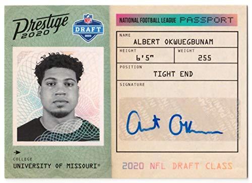Albert Okwuegbunam 2020 Panini Prestige NFL Passport Signatures #12 NM-MT Auto Football NFL