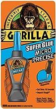 Gorilla Micro Precise Super Glue, 6 gram, Clear, (Pack of 1)