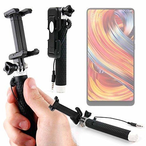 DURAGADGET Palo Selfie (Selfie-Stick) para Smartphone Doogee Mix 2 / Xiaomi Mi Mix 2S