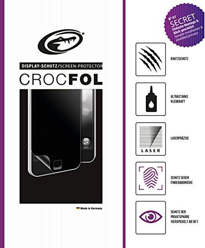 CROCFOL SECRET 5K HD Schutzfolie für das BlackBerry Passport. Schutz der Privatsphäre (PRIVACY-COATING) & Schutz gegen Fingerabdrücke (ANTI-FINGERPRINT), sowie Stoßabweisend (SHOCK-PROOF). 3D Touch Folie für das Original BlackBerry Passport. Hergestellt in Deutschland.