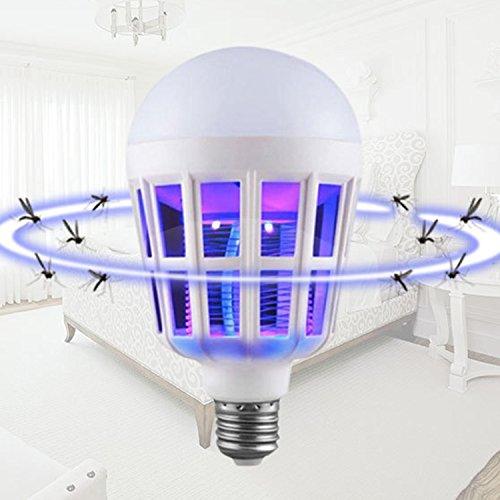swiftt Power - Lampada a LED a forma di zanzariera, 15 Watt