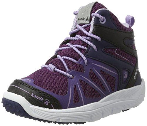 Kamik Mädchen FURYHIGTX Hohe Sneaker, Violett (Dark Purple-Violet Fonce), 38 EU