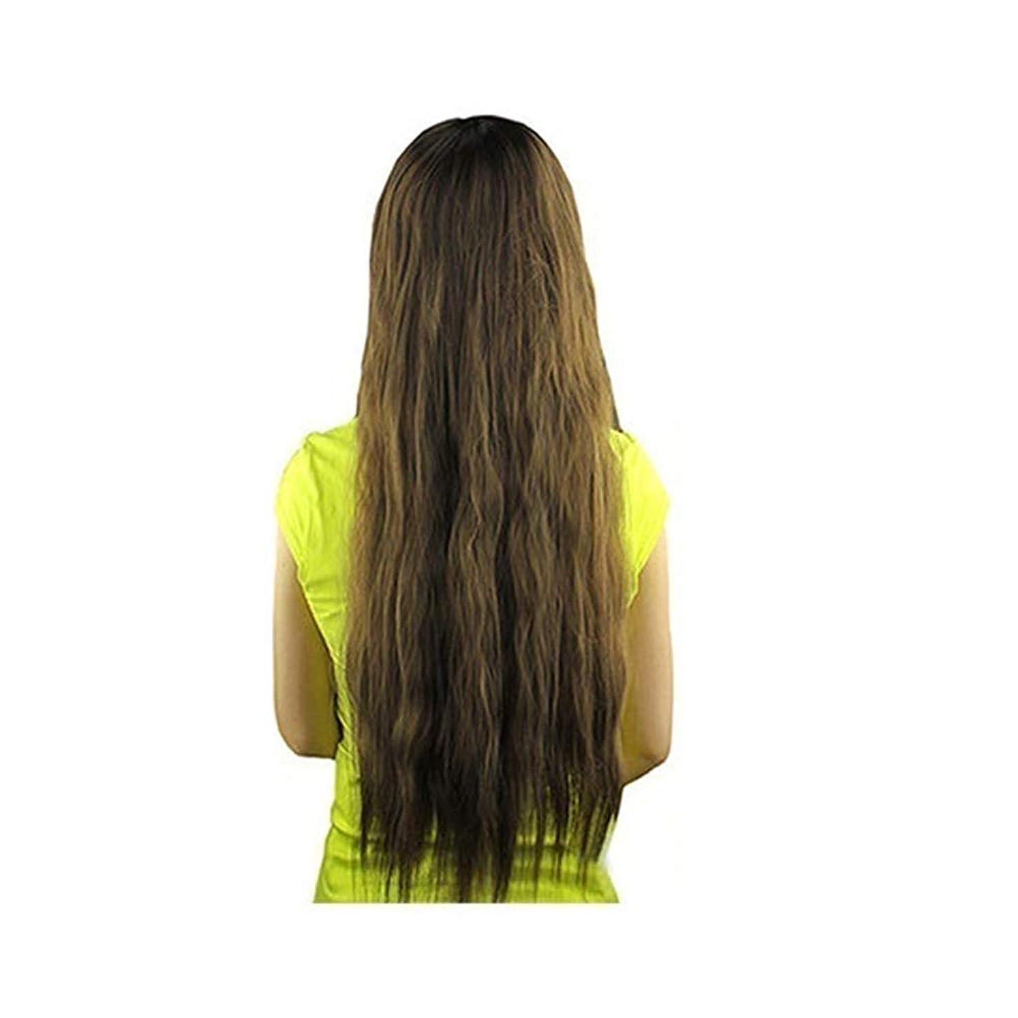 リッチ混合機構slQinjiansav女性ウィッグ修理ツール女性長波状バング髪ウィッグ耐熱パーティーコスプレ合成ヘアピース