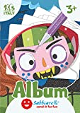Sabbiarelli Sand-it For Fun - Album Las Máscaras Monstruosas: 4 Máscaras de Halloween a Forma de...
