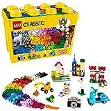 LEGOClassicScatolaMattonciniCreativiGrande,SetdiCostruzioniDivertenti,ContenitoreGiocattoliColorati,10698