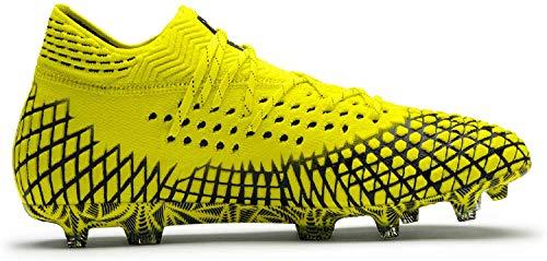 PUMA Herren Future 4.1 Netfit Fg/Ag Fußballschuhe, Gelb (Yellow Alert-Puma Black 03), 44 EU