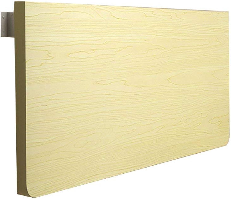 bienvenido a elegir Wghz Pequeña computadora Escritorio Escritorio de Parojo Parojo Parojo Dormitorio portátil Mesa Plegable Mesa Colgante de Parojo Mesa de Comedor, Color Arce blancoo, tamaño múltiple Opcional (Tamaño  50  30 cm)  el más barato