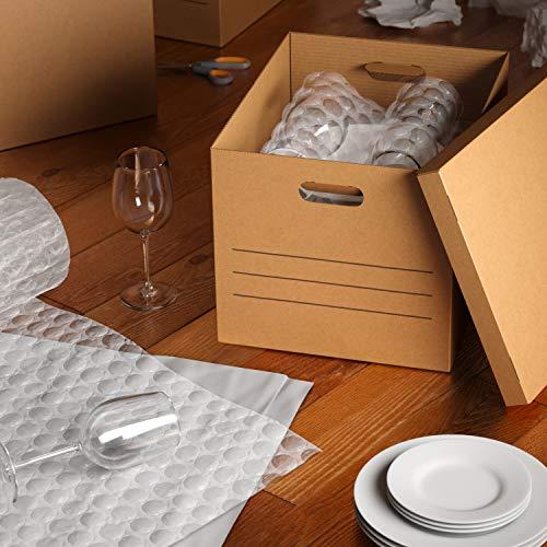 AmazonBasics Moving Boxes with Handles - Medium, 10-Pack