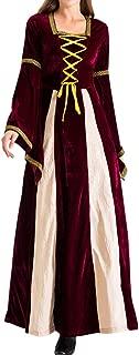 LODDD Women 2 Piece Magic Witch Dress Party Costume Cosplay Long Dress