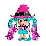 Pinypon- Figura brujita araña, incluye sombrero, escoba y pócima (Famosa 700015651)