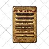 muzi928 Cigarros de hojalata de alcantarilla Carteles de Chapa Vintage Metal Pin Up Poster Arte de l...