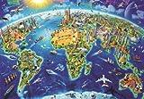 Educa Borras - Genuine Puzzles, Puzzle 2.000 piezas, Símbolos del mundo (17129)