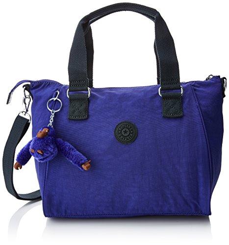 Kipling Damen Amiel Umhängetasche, Violett (Summer Purple), 24.5x27x14.5 Centimeters