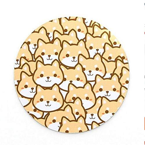 Creatieve Persoonlijkheid Planet Mouse Pad Zachte Rubber Kussen Kleine Verse Circulaire Notebook Pad Verdikking 220 * 220 * 3Mm