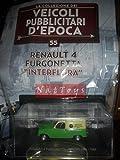 EDICOLA Renault 4 Furgonetta Interflora 1966 Pubblicitari Epoca +fas.55 Die Cast 1:43 Compatible con