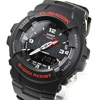 カシオ Gショック CASIO 並行輸入品 G-SHOCK 腕時計 スタンダード アナデジ G-100-1BV ブラック 海外モデル [時計]