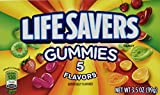 LifeSavers Gummies with 5 Flavors Theater Box by Wrigleys - 3.5 Oz / Box