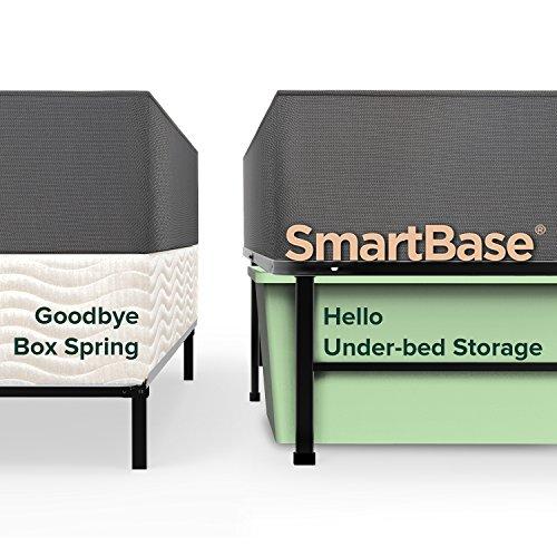 Zinus Shawn SmartBase Metal Bed Foundation Frame