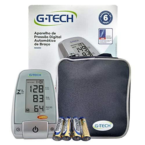 Aparelho Medidor De Pressão Arterial Digital Automático De Braço G-Tech MA100