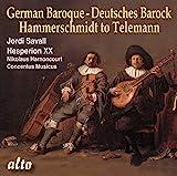Hammerschmidt, Telemann : Suites et concertos baroques. Savall, Harnoncourt.