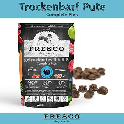 Fresco Dog Trockenbarf Complete Plus Pute 2,5kg