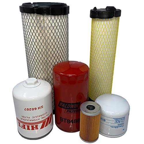 CFKIT Maintenance Filter Kit For Bobcat CT225 CT230 CT235 Serial A9JY11001 & Above
