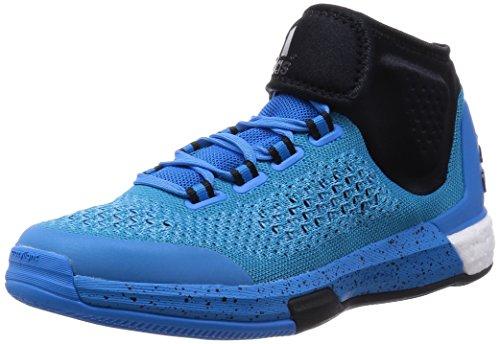 adidas Herren Basketball Schuhe , Mehrfarbig - Blau / Schwarz - Größe: 48 EU