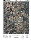 Colorado Maps - 2011 Crestone Peak, CO - USGS Historical Topographic Wall Art : 18in x 24in