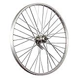Taylor-Wheels 24 Pulgadas Rueda Trasera Bici buje Freno contrapedal Argento