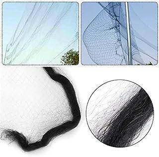 La malla de alambre de plástico de 9 tamaños detiene a las aves lejos de la