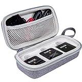 Aenllosi Caja Bolsa Fundas para Rode Wireless GO II Sistema de micrófono inalámbrico (gris)