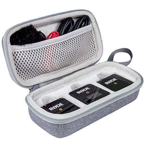 Aenllosi Caja Bolsa Fundas para Rode Wireless GO II Sistema de micrófono...