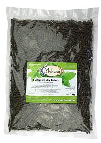 Makana 16 AtemKräuter Pellets, mit Schwarzkümmel, 1000 g Beutel (1 x 1 kg)