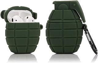 LEWOTE Siliconen Case Compatibel voor Apple Airpods 1 & 2 Grappige Cover [Sport Design] [Beste Cadeau voor Kinderen,Jongen...
