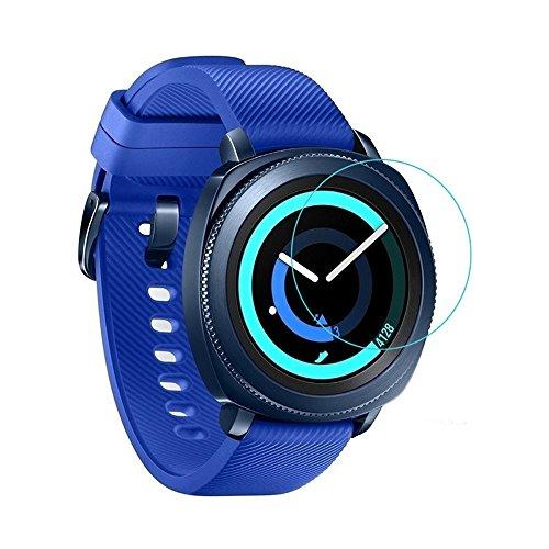 jieGorge Explosionsgeschützte LCD-TPU-Vollschutzfolie Kompatibel mit Samsung Gear Sport, Smartwatch Sales (Clear)