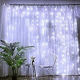 Baiwka LED Rideau Lumières 3m X 3m, Fée Guirlande...