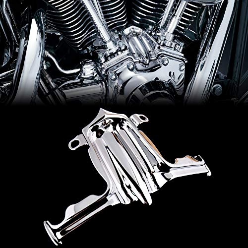 Yeyoucoc Chrome Tappet Lifter Block Funda de Acento para Harley Twin CAM Street Glide Road King 00-16 Modelo