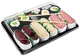 Rainbow Socks - Damen Herren - Sushi Socken Lachs Butterfisch Thunfisch 2x Maki - Lustige Geschenk -...