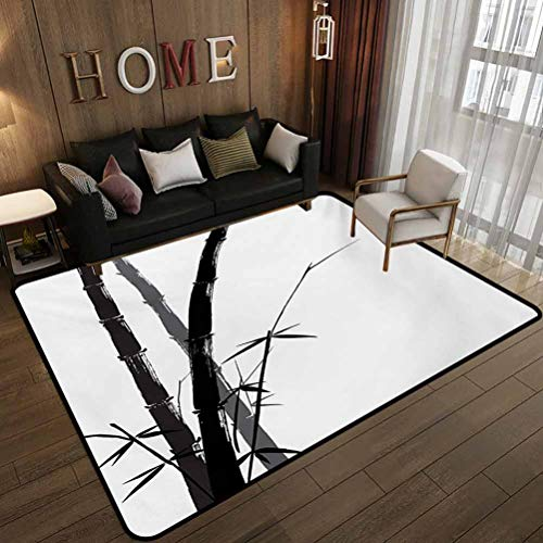 alfombra salon bambu fabricante Flyerer