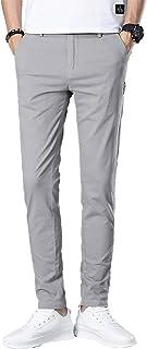 [キメロイ]Kimeroyチノパン ストレッチ スリム ロングパンツ スキニー 綿ズボン メンズ ストレッチパンツ テーパードパンツ スキニーパンツ スリムチノパン 細身 美脚