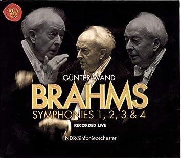 J. Brahms: Symphonies Nos. 1, 2, 3 & 4