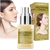 Neck Firming Cream, Neck Tightening Cream, Anti Aging Neck Moisturizer Cream for Lifting Double Chin, Sagging & Crepe Skin