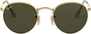 Ray-Ban Metal Polarized Round Sunglasses